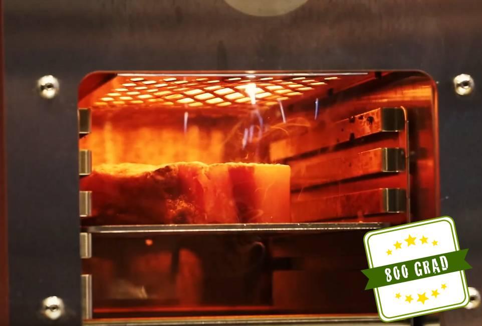 800 Grad sichern dein Steakgelingen
